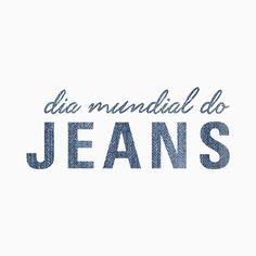 Desde 1890, o Jeans é SUCESSO no mundo! Tão PODEROSO têm até um dia dedicado a ele: 20.05 ➡️Dia Mundial do Jeans#reginasalomao #RSloveJeans #AW16