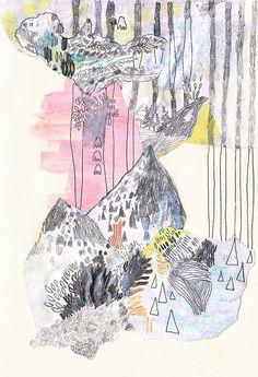 Landscape Sketches # 3 - Dar Rotem