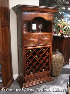 Wine storage- Country Willow Furniture
