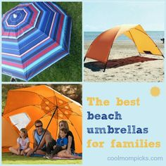 We tracked down the very best beach umbrellas for every occasion. And they don't have to be pricy!