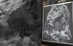ArtStation - terrain mesh sculpting, Roman Porozov