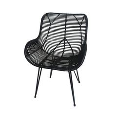 Wicker furniture doesn't have to be banished to the outdoors (or be stuffy and white, for that matter). Bring the look inside with these contemporary woven beauties.