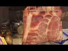 Danny shows how we cure, smoke, slice and cook bacon. Formal invite to Off Grid Nation and Off Grid Kid issued. Bacon Jerky, Smoked Cheese, Blue Tips, How To Make Sausage, Smoking Meat, Charcuterie, Pork Recipes, The Cure, Bbq