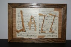 """""""All That Jazz"""" repurposed piano mechanism parts yelling """"JAZZ"""" mounted on vint… """"All that jazz"""" repurposed """"JAZZ"""" mounted on vintage … Piano Art, Piano Room, Old Sheet Music, Vintage Sheet Music, Piano Crafts, Liquor Bar, Old Pianos, Best Piano, Music Is My Escape"""