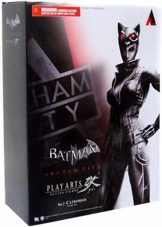 Batman Arkham City: Catwoman Play Arts Kai Figure - The Movie Store