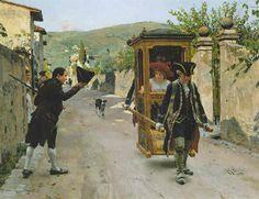 The Salutation, 1890, by Raffaello Sorbi (Italian, 1844-1931)