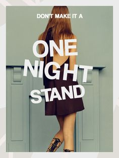 Are You Having One Night Stands, With Your Clothing? — Row + Rue