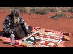 Aboriginal Artist Ronnie Tjampitjinpa -1516