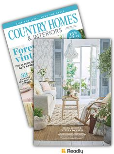Suggestion about Country Homes & Interiors Jul 2018 page 62 Country House Interior, Country Homes, Interiors, Modern, Country Cottages, Trendy Tree, Decoration Home, Decor, Country Houses