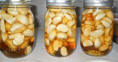Ail, vinaigre de cidre et du miel - Combinaison magique qui traite la…