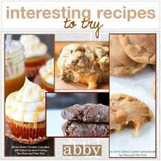 Interesting Recipes to Try