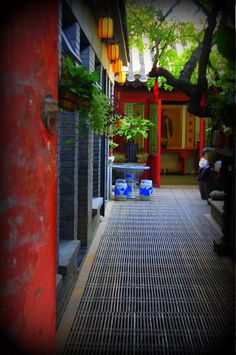 Beijing Hutong tea shop