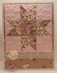 quilt square card