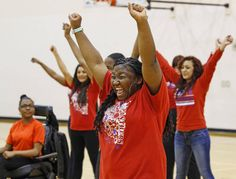 K-12:  #Students with #disabilities find school spirit, new opportunities through #cheerleading team.  (The Dallas Morning News, 4/9/15)  #Disability  #Education  #DisabledTeens  #CheerleadingSquad  #Inclusion