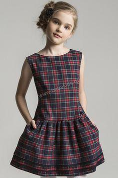 """Платье """"Юбка с кружевом"""" для девочки 29526-235 разноцветный Noble People"""