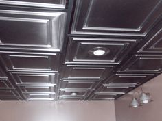 Ceilume Ceiling Tiles and Ceiling Panels Drop Ceiling Panels, Drop Ceiling Tiles, Faux Tin Ceiling Tiles, Dropped Ceiling, Basement Steps, Indoor Air Quality, Basement Remodeling, Bathroom Ceilings, Church Ideas