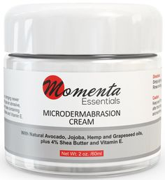Momenta Essentials Microdermabrasion Cream Review #MomentaEssentials