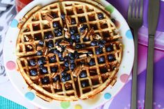 Gluten free * Grain Free * Dairy Free * Sugar Free Waffles