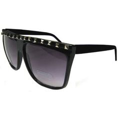 Sunglasses Embellished w/ Pyramid Studs, GirlPROPS EXCLUSIVE!