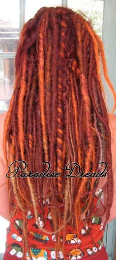 dreads amber, copper,,,,