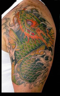 koi dragon – Tattoo Picture at CheckoutMyInk.com