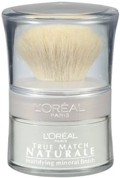 L'oreal Paris True Match Naturale Soft-focus Mineral Finish, Translucent Matte, Ounce, 2 Ea 0.15