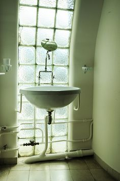 immeuble molitor - paris - bathroom - apartment le corbusier