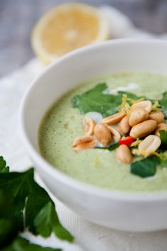 Brokkoli-Chili-Suppe - www.kuechenchaotin.de