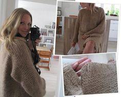Skappel-genser-got it made! Curvy Dress, How To Start Knitting, Knitting Yarn, Capsule Wardrobe, Knitwear, Knit Crochet, My Style, Womens Fashion, Sweaters