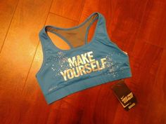 "Nike ""Make Yourself"" Dry-fit sports bra"