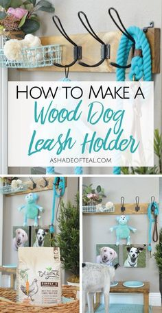 How to make a Dog Leash Holder trending dog products from our store and get up to off. You will not find this rare dog accessories in any other store, so grab this Limited Time Discount Now! Diy Dog Run, Dog Room Decor, Dog Organization, Dog Leash Holder, Dog Corner, Dog Area, Wood Dog, Dog Rooms, Dog Harness