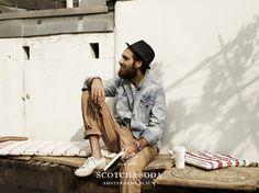 Amsterdams Blauw Spring / Summer 2012 denim collection for men by Scotch & Soda