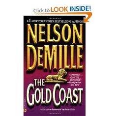 Nelson DeMille is one of my favorite authors, and this is one of his books that I would recommend