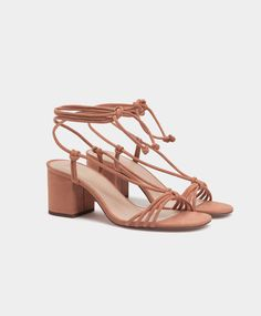 Tie-up sandals - New this week - NEW IN | Oysho