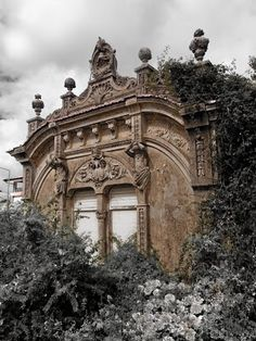Ideas of how the Stallion house will look Abandoned Art Nouveau building, Avintes, Portugal Abandoned Buildings, Abandoned Castles, Abandoned Mansions, Old Buildings, Abandoned Places, Art Nouveau Architecture, Architecture Old, Beautiful Architecture, Beautiful Buildings
