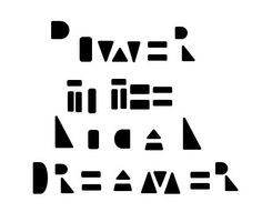 Power to the Local Dreamer. |-/