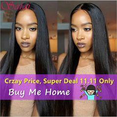 Indien Vierge Cheveux Raides 3 Bundles Droite Vierge Cheveux Raw Cheveux Indiens de 10A Grade Vierge Non Transformés Extensions de Cheveux Humains