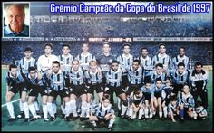1997 Gremio campeão da Copa do Brasil de 1997 (1º jogo)