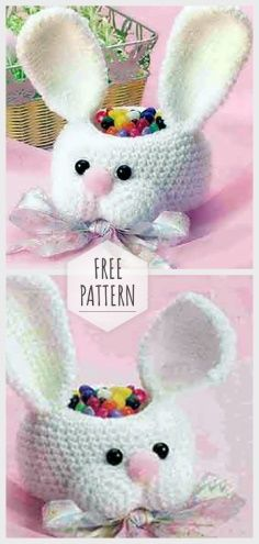 Mesmerizing Crochet an Amigurumi Rabbit Ideas. Lovely Crochet an Amigurumi Rabbit Ideas. Crochet Easter, Bunny Crochet, Easter Crochet Patterns, Holiday Crochet, Crochet Crafts, Crochet Toys, Crochet Projects, Knitting Toys, Easter Projects