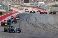 Start, Circuit of the Americas, 2016