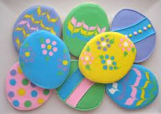 easter egg cookies - Google Search