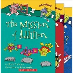 The Mission of Addition; The Action of Subtraction; and How Long or How Wide? A Measuring Guide (3 Books) (Math is CATegorical) (Paperback)  http://www.picter.org/?p=B005M9B5O4