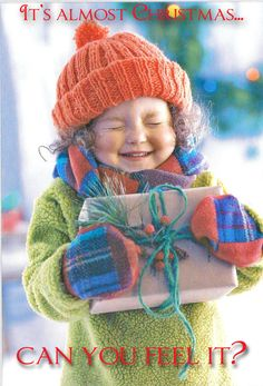 The Joy of Christmas felt in a child.