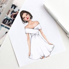 Style of Brush by Gizem Kazancigil #fashionillustration gizem kazancigil (@gizemkazancigil) #FashionIllustrations