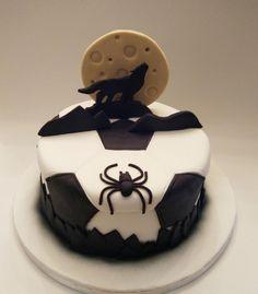 The wolf - cake by nef_cake_deco