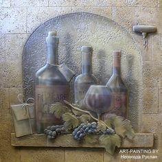 Барельеф в деталях.Учимся Создавать БАРЕЛЬЕФ Plaster, Artist At Work, Wood Carving, Stained Glass, Sculpting, Projects To Try, Photo Wall, Clay, Painting
