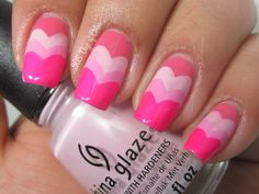 365 days of color: CHINA GLAZE VALENTINES ART