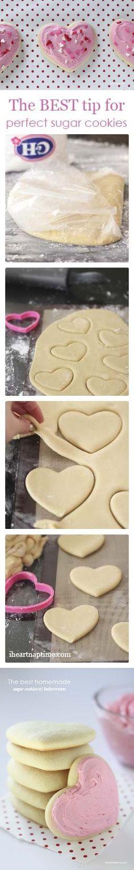 heart cookies #valentines #valentinesday