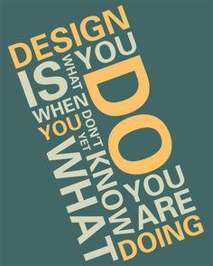 Inspirierende Poster mit Zitaten über Design   DerTypvonNebenan.de
