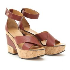 mytheresa.com - Chloé - ALICE LEATHER PLATFORM SANDALS - Luxury Fashion for Women / Designer clothing, shoes, bags